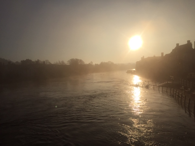 Bewdley in Flood Autumn 2019