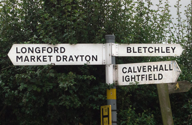 Moreton Say Parish Council Highways Information
