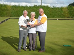 Mixed Pairs Champions Mariee Ramm and Bob Parry