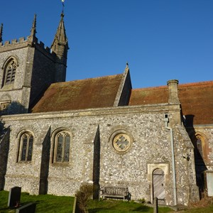 St Leonard#s Church from the south