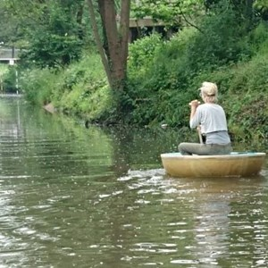 Frome Men's Shed Lodka - Coracle #3