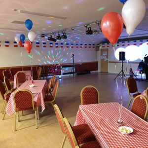 Main Hall French themed party