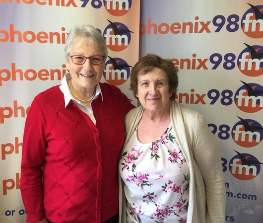 Jenny And Sandra had a chat with John Hawthorn at Phoenix FM on Monday 29 April.