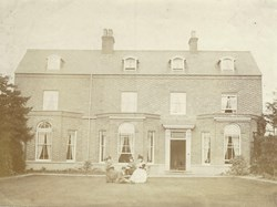 Brooklands, Low St, home of Mr & Mrs Lucas during WW1