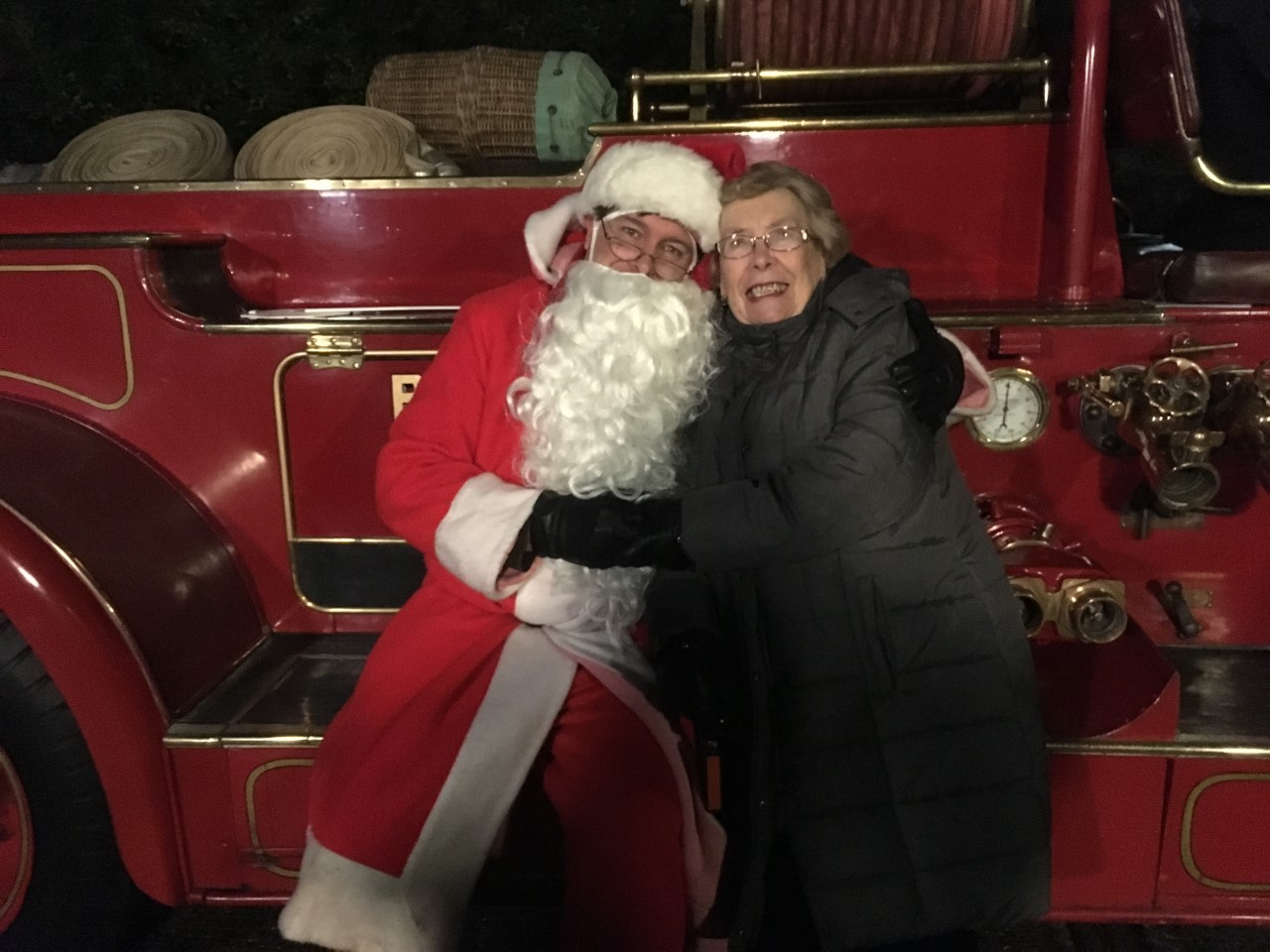 Darenth Parish Council Santa's Christmas Tour 2019