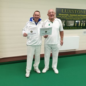 Federation Men's Pairs Winners - Mark Wickenden & Malcolm Grimwood.