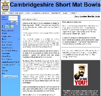 Cambridgshire Short Mat Bowls Association