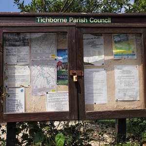 Tichborne Parish Notice Board
