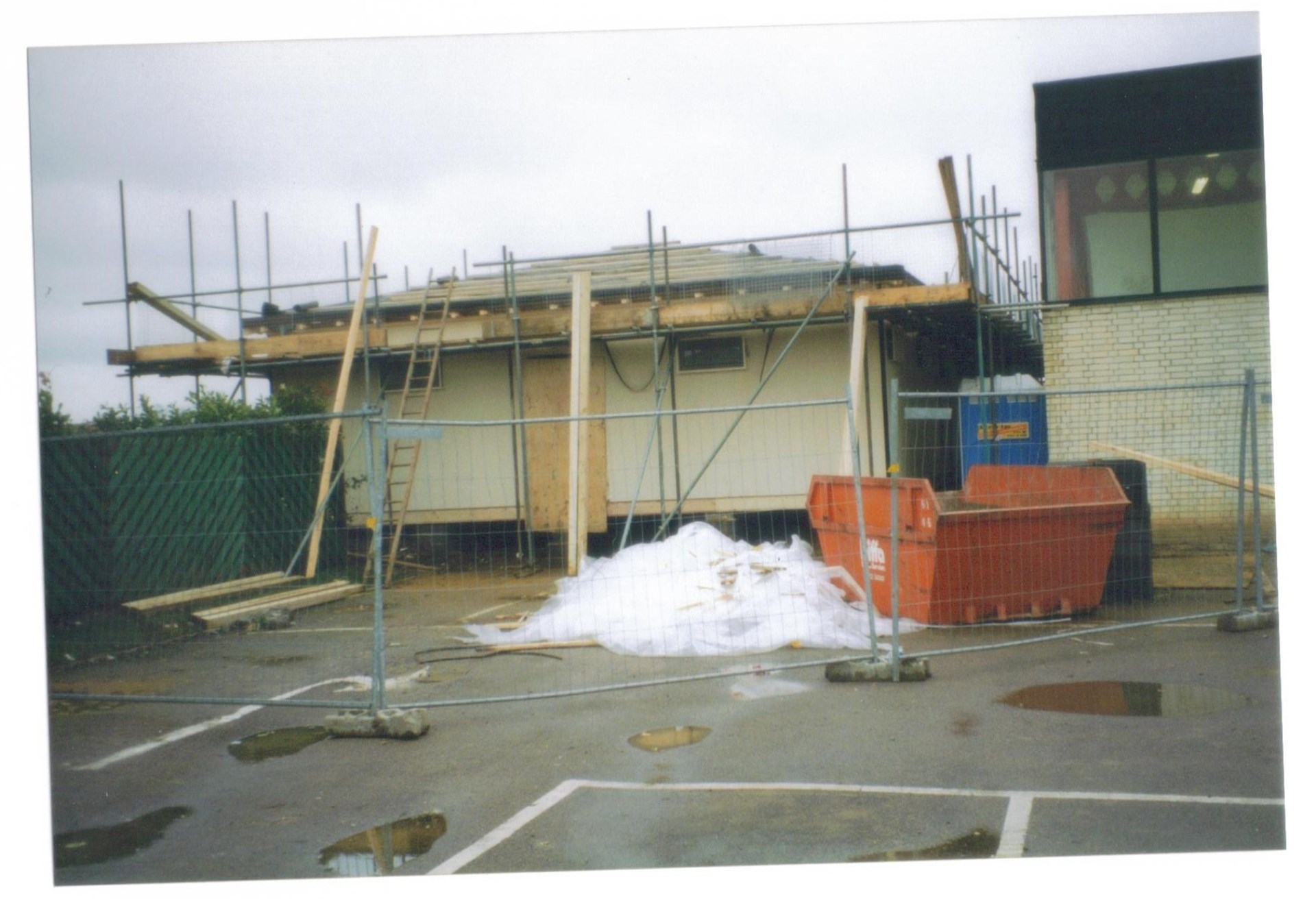 Club House nearing completion 1998/99