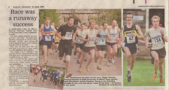 2009 - Andover Advertiser