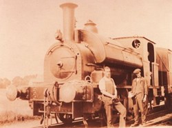One of the first steam engines used by Shell Mex
