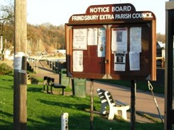 Image of Parish Noticeboard at Lower Upnor