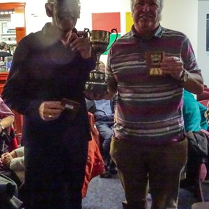Peter Norton and Malcolm Tregoning, Pairs Winners