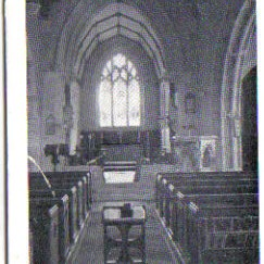 The interior of St Leonards Church
