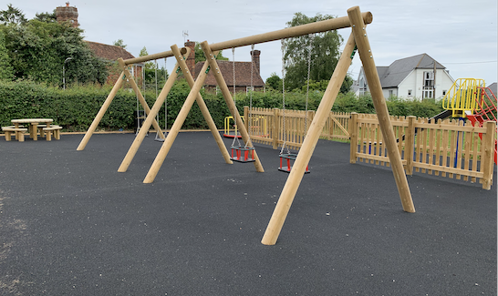 Leeds Parish Council Childrens Play Area Leeds Playing Field