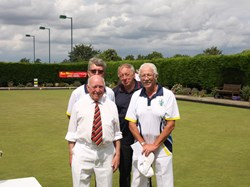 2019 Over 55s fours finalists