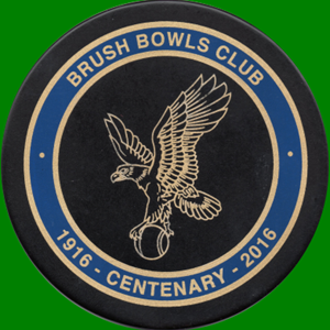 Welsh Slate Table Mats given to members by 2016 President Robin Whelband to commemorate the Brush Bowls Club Centenary