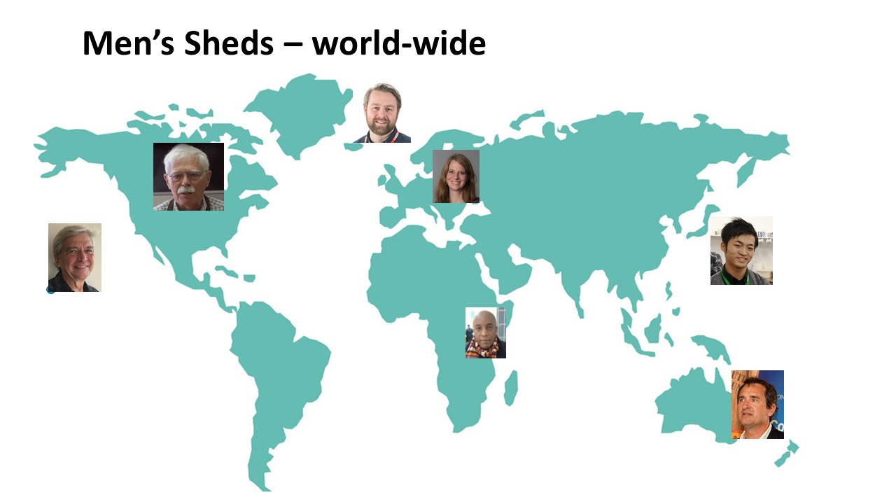 Interviews with Shedders world-wide