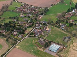 Astley from the air. Photo RAF Shawbury