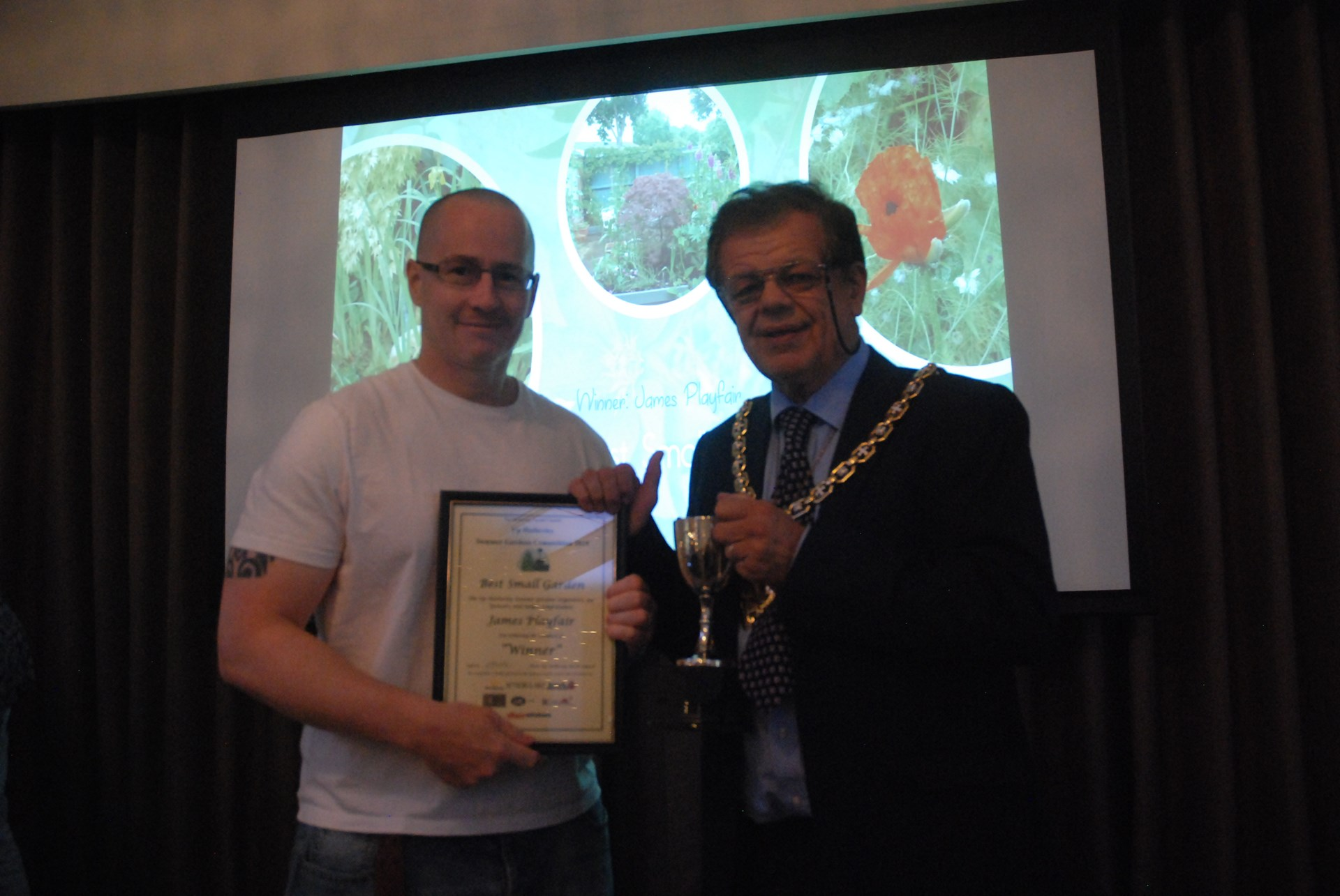 Best Small Garden - James Playfair