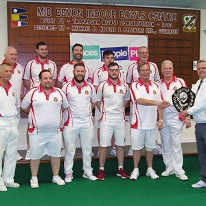 Top Club 19-20: Exonia (winners) with JDP Ian Turner