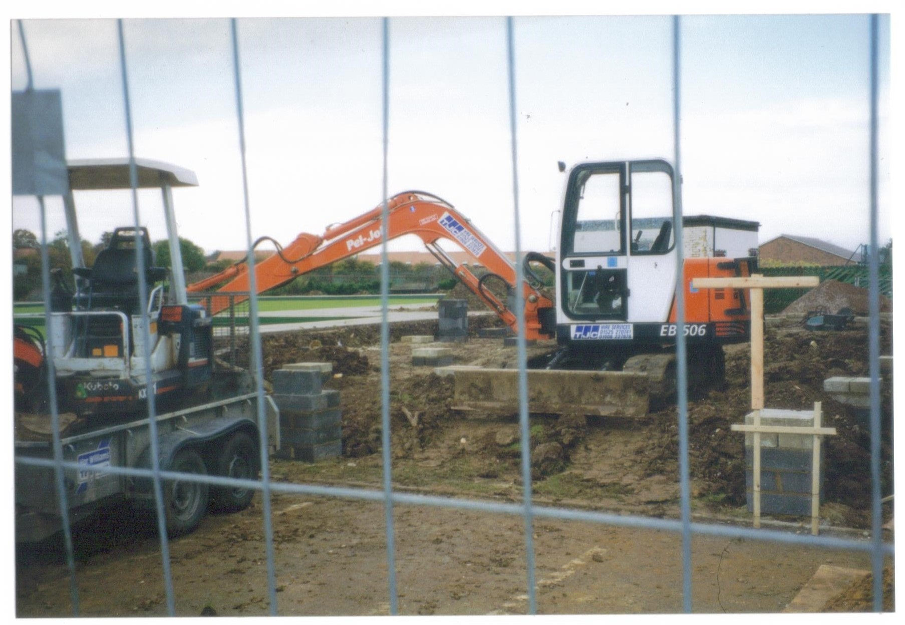 Construction of the Club House 1998/99