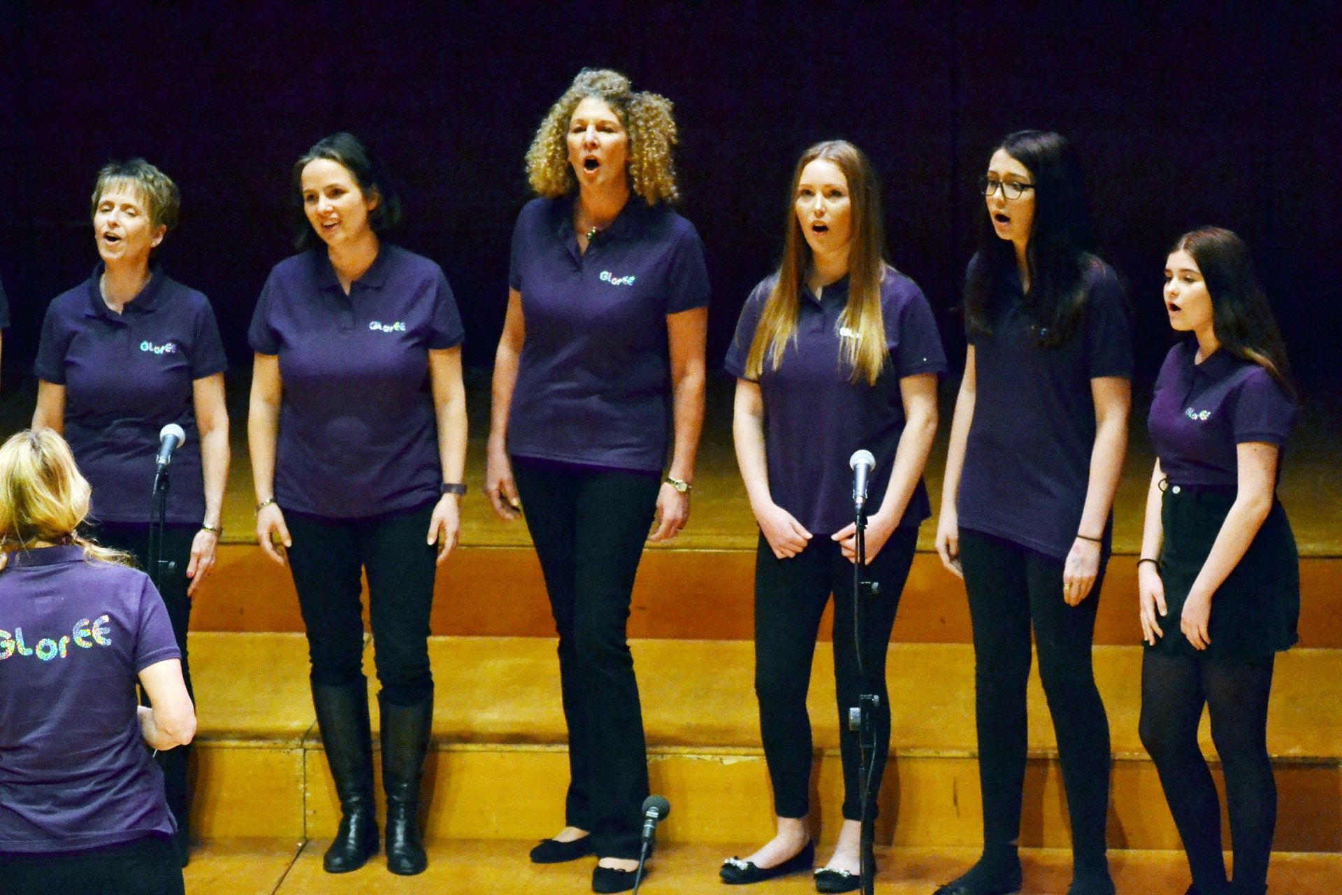 GLorEE represented St John's Church Crowthorne at the final of Let's Sing Reading Choir Competition at the Hexagon in Reading on 1st March 2017.