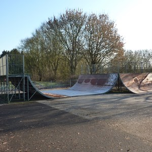 Skatepark at Beach Park