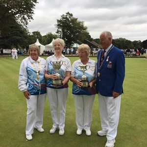 National Pairs Winners S.Cotton, D. Jones Leamington