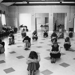 Keep Fit in the Main Hall in the early days