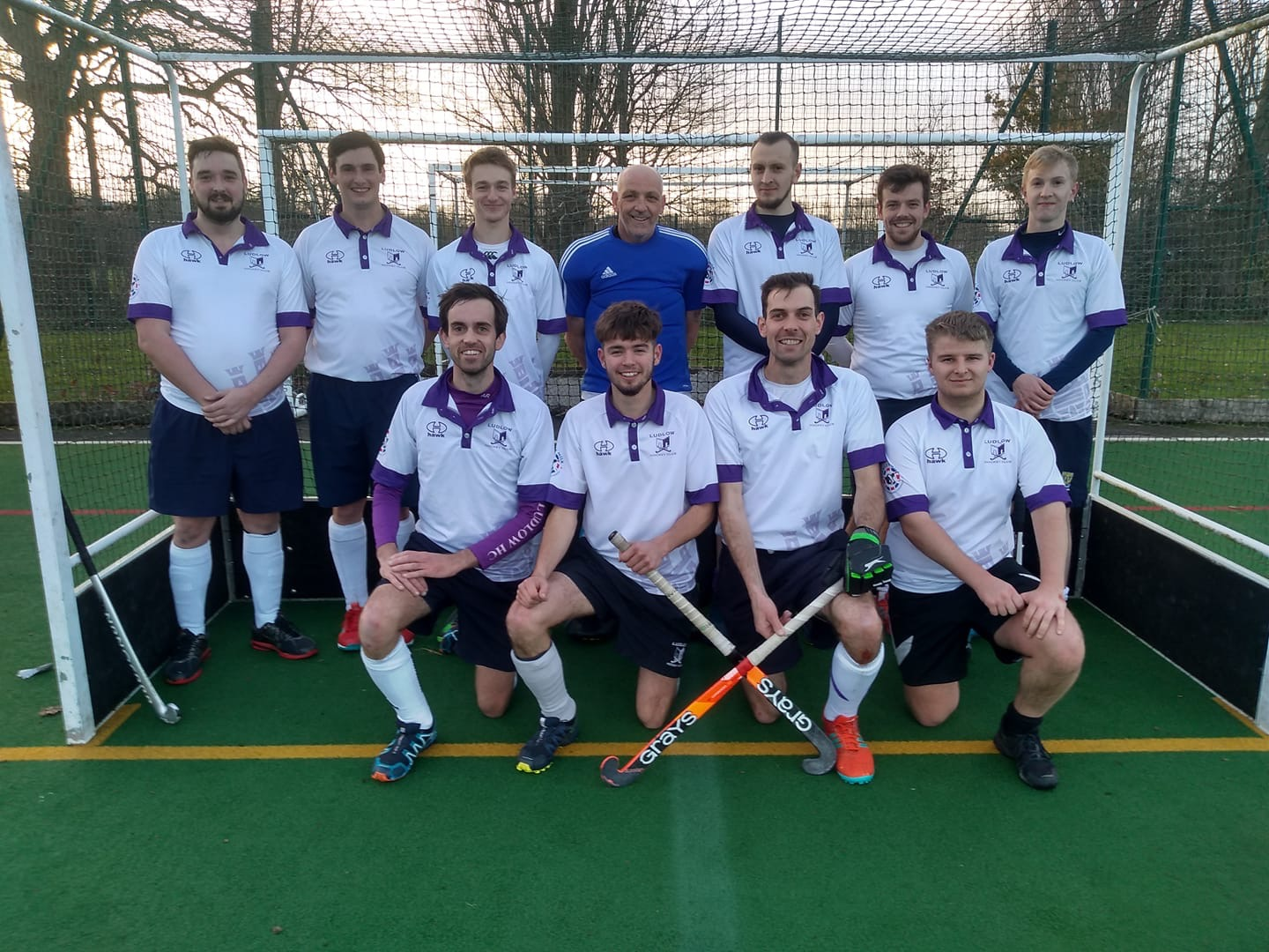 Back row. Left to right. Mike Wilson, Patrick McBride, Tyler Davies, Dave Hughes, Matt Blount, Matt Smart, Tom Blount  Front row. Left to right. Andy Richards, Sam Pratt, Stuart Richards, Jack Pritchard