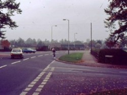 1985 Alma Road and Hatherley Road junction from Shelburne Road