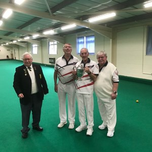 2017-18 County Triples Champions: Torbay