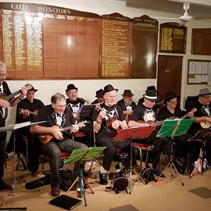 Ukulele Band - A great evening had by all !! 2nd November 2018