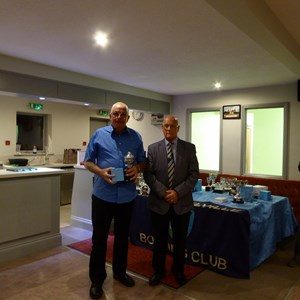Steve Muton Trophy Runner Up - Tony Adams