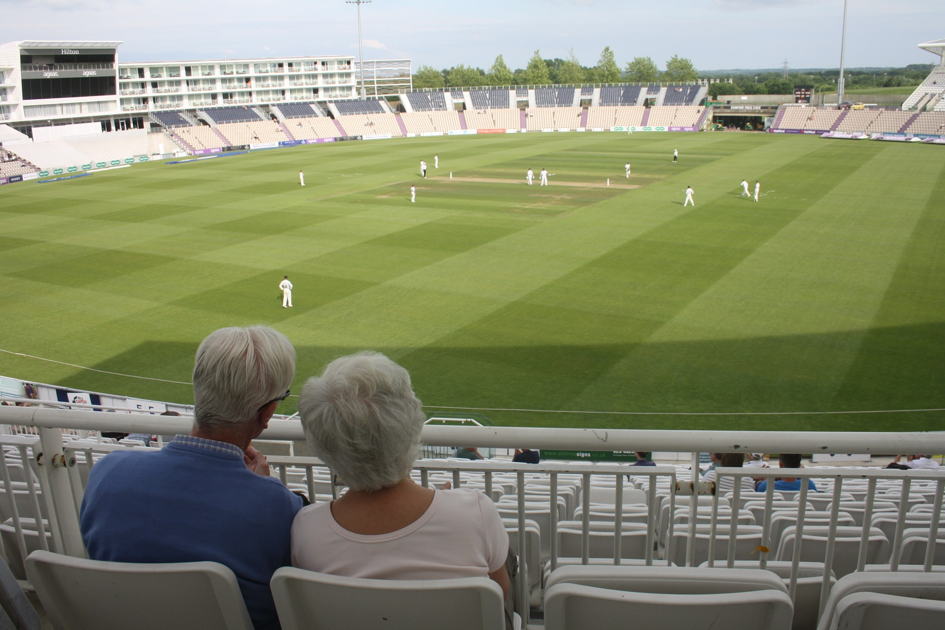 Partnering with Hampshire Cricket we provide opportunities to watch County Matches in a supported environment