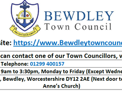 Bewdley Town Council Report Issues