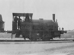Steam engine used by Shell Mex c.1928