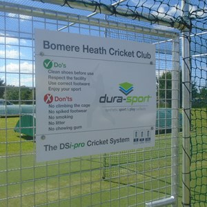 Bomere Heath & District Parish Council Nov 2015 New Cricket Nets