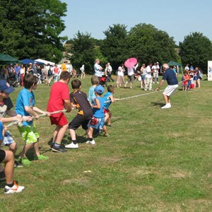 Tug of War at summer fete