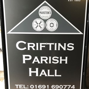 Criftins Parish Hall & Playing Field Home