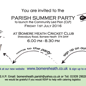 Bomere Heath & District Parish Council CLP Summary Findings
