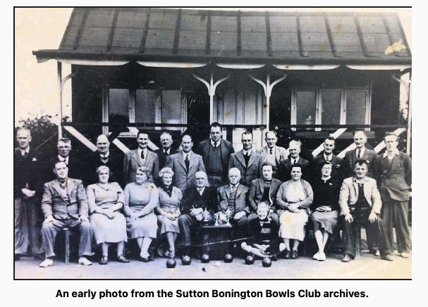 Sutton Bonington Bowls Club Days gone by.......
