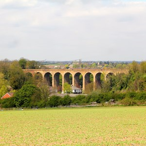 View from Skinny Lane towards Viaduct