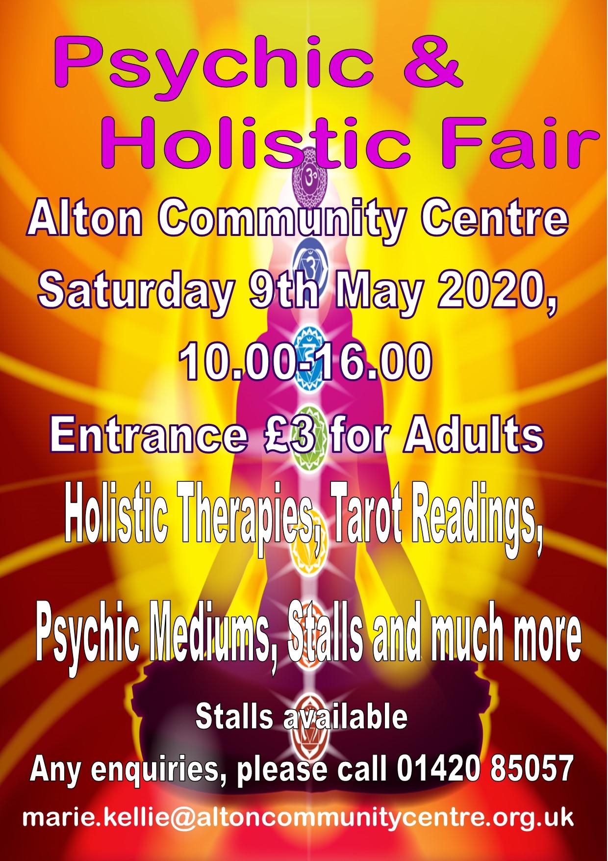Phoenix Psychic Fair 2020.Psychic Alton Community Centre Alton Hampshire Alton