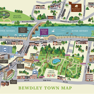 Bewdley Town Council Town Maps
