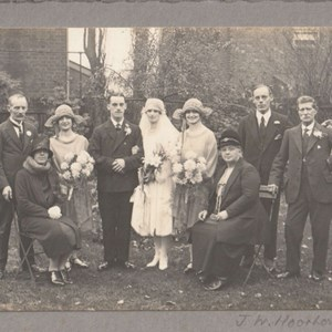 Batchelor Wedding. 2nd November 1927