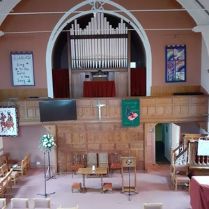Interior of Sowerby Methodist Church