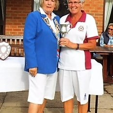 Two Wood Singles Winner S.Allen