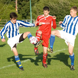 Football at Overton Recreation Centre